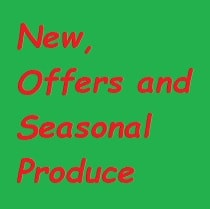 Offers, New & Seasonal